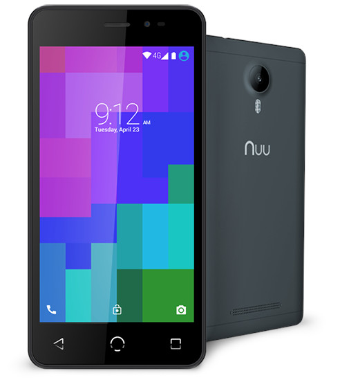 How to delete the Google account in NUU Mobile A3