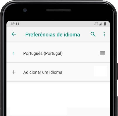 Adicionar um idioma Android
