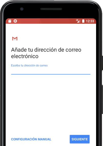 Tipos cuenta correo Gmail