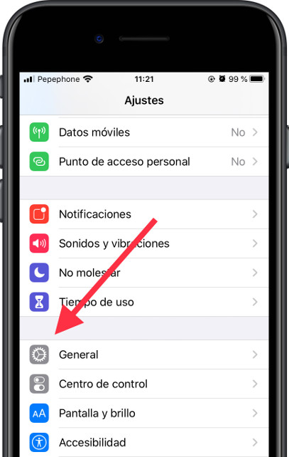 Icono general iOS