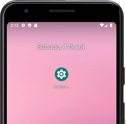 Icono ajustes Android