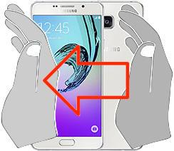Captura de pantalla en  Samsung Galaxy A7 (2016)
