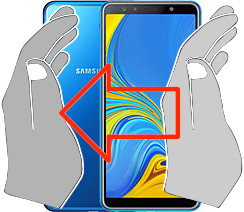 Captura de pantalla en  Samsung Galaxy A7 (2018)