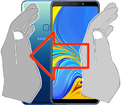 Captura de pantalla en  Samsung Galaxy A9 (2018)
